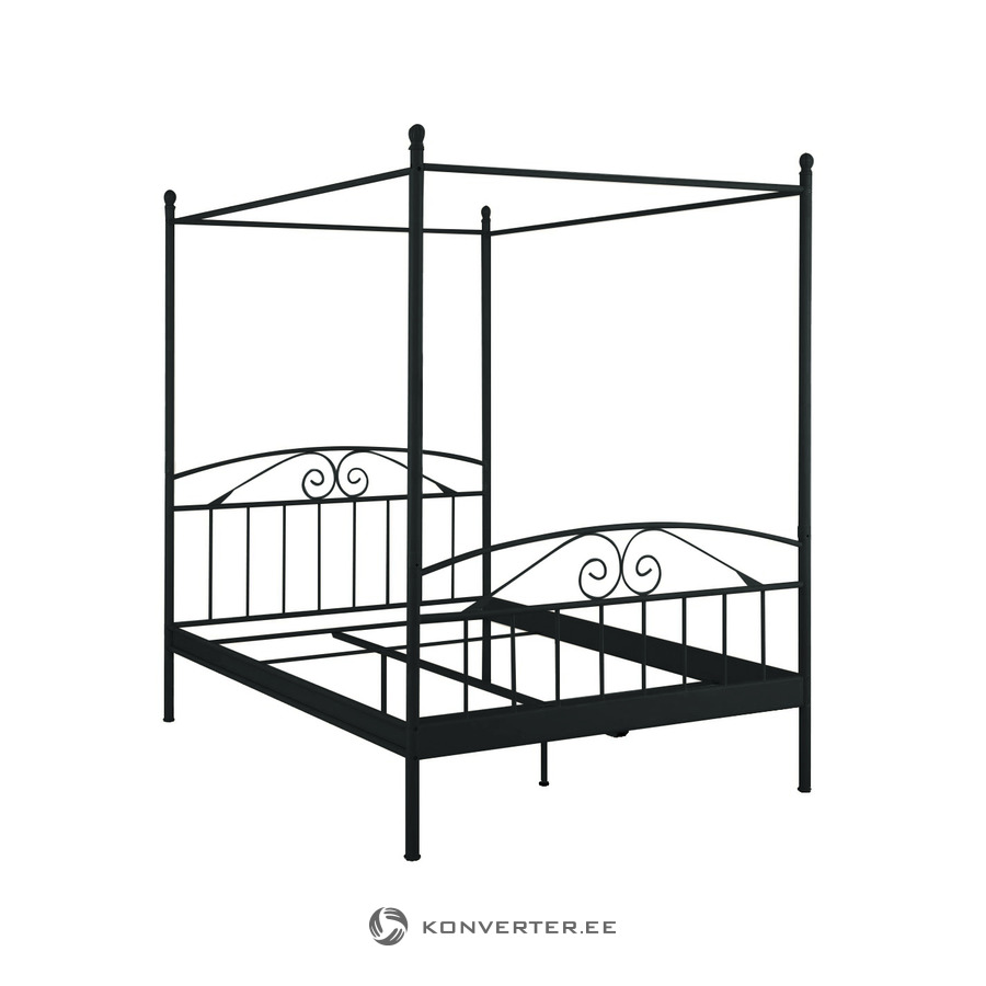 - Bibi Canopy Bed 180 X 200 Cm / Black Metal - Konverter Outlet