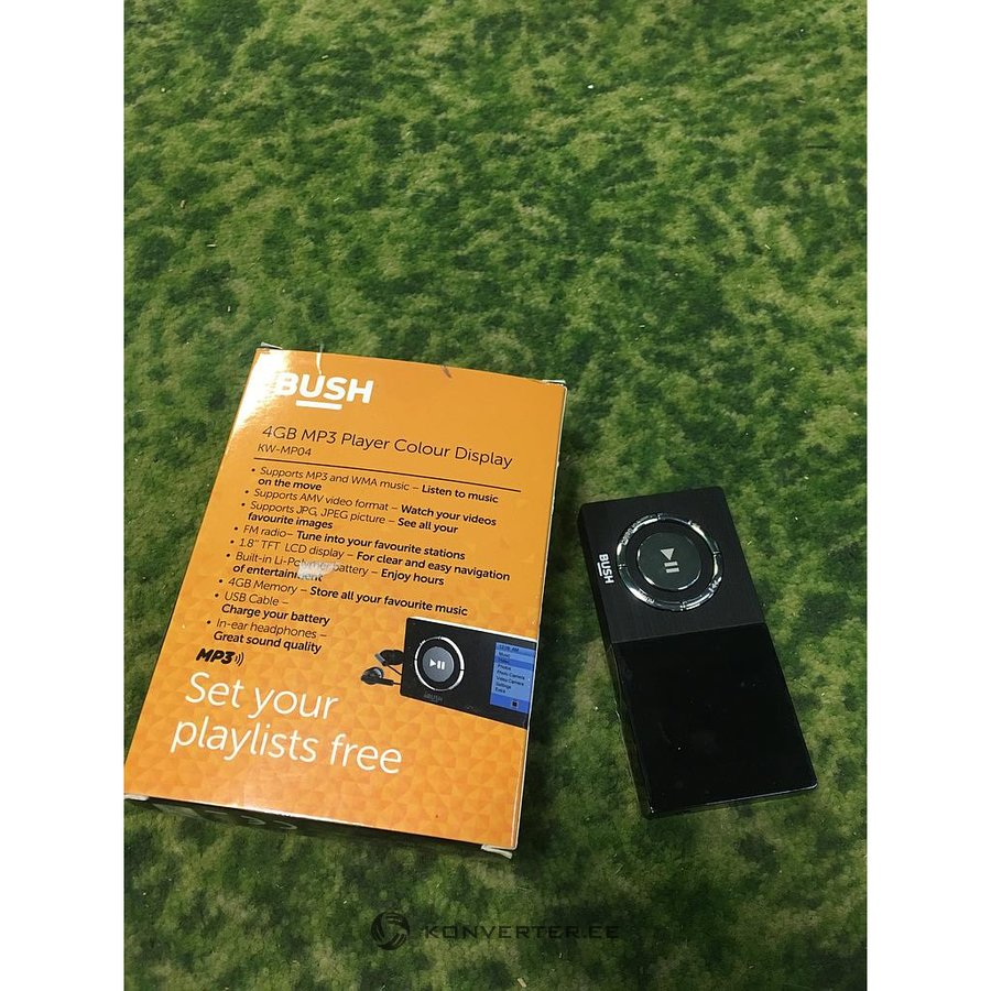 MP3 Player BUSH KW-MP04 4GB - Konverter Outlet