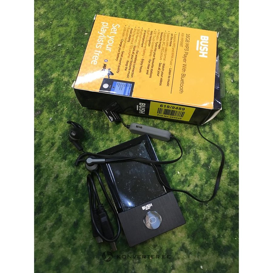 Bluetooth with MP3 Player Bush KW-MP06BT (Bluetooth does not work) -  Konverter Outlet