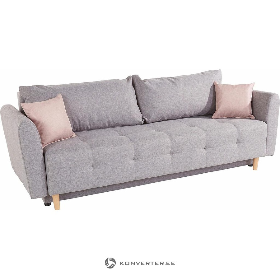 Pleasant Light Gray Sofa Bed Inosign Konverter Outlet Download Free Architecture Designs Ogrambritishbridgeorg
